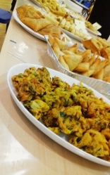 All kinds of food and drink was enjoyed from Pakoras to Pizza's, to Jammie Dodgers and traditional Turkish tea.